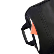 Kongre-Sempozyum Large Serisi Promosyon Notebook Çantası Suni Deri-Siyah