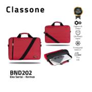 Classone BND202 Eko1 Serisi 15,6 inch Notebook Çantası / Kırmızı