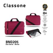 Classone BND205 Eco1 Series-15,6 Zoll kompatible Notebook-Tasche - Weinrot
