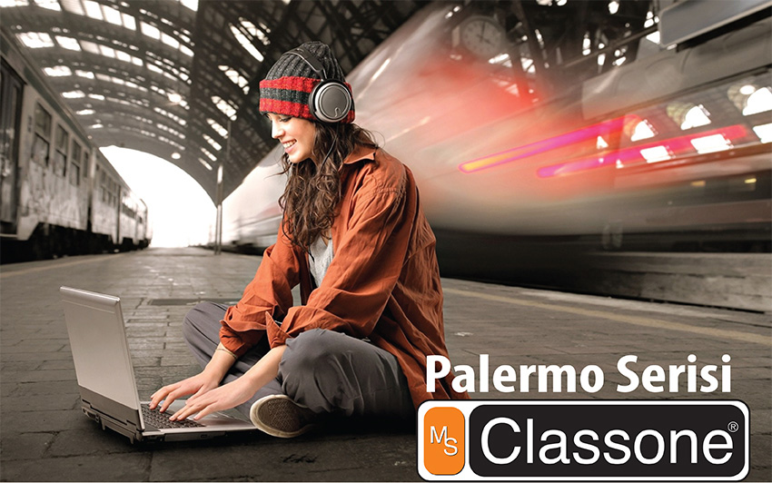 Classone BP-L202 Palermo Serisi 15,6 inch Sırt Çantası - Bordo