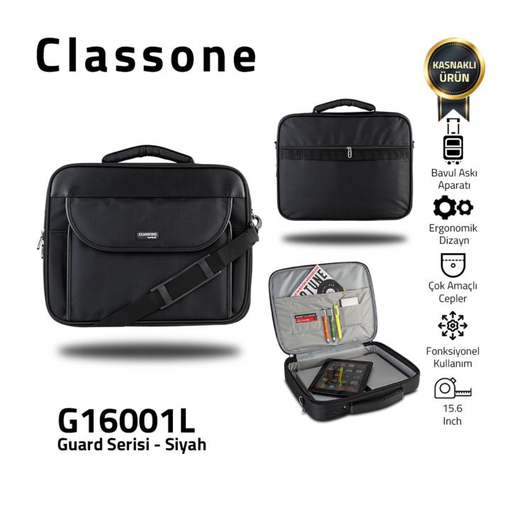 Guard-Serie Laptoptaschen / Schwarz-Grau