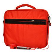 Classone G16002L Guard Serisi Kasnaklı 15,6 inch Notebook Çantası - Kırmızı /Gri