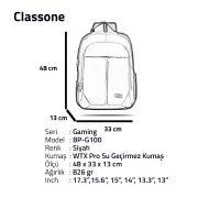 Gaming Series BP-G100 XL Backpack