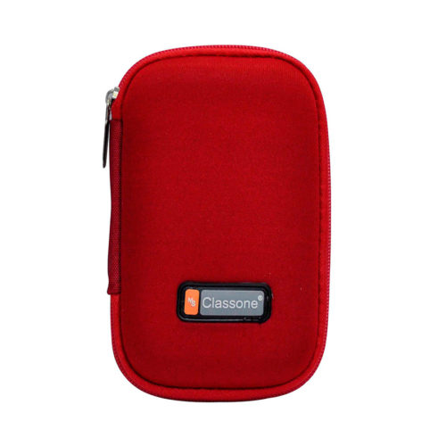 2,5'' Uyumlu Hard Disk Taşıma Çantası - Kırmızı