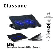 Classone M30 Gaming Laptop Kühlkissen