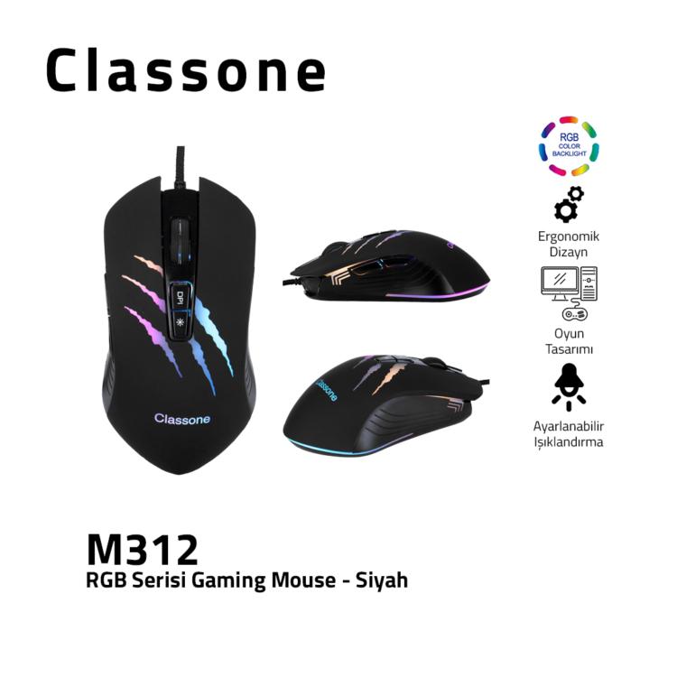 Classone M312 RGB-Serie Spielen Maus