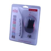 Kablosuz USB Nano Alıcılı Optik Mouse Siyah / Kırmızı