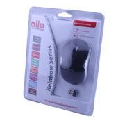 Kablosuz USB Nano Alıcılı Optik Mouse Siyah / Gri