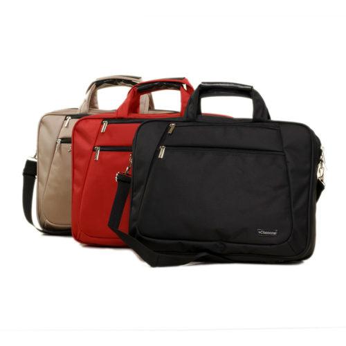 Classone NB156PR-1 Prestige Large Serisi 15,6 inch Notebook Çantası Siyah