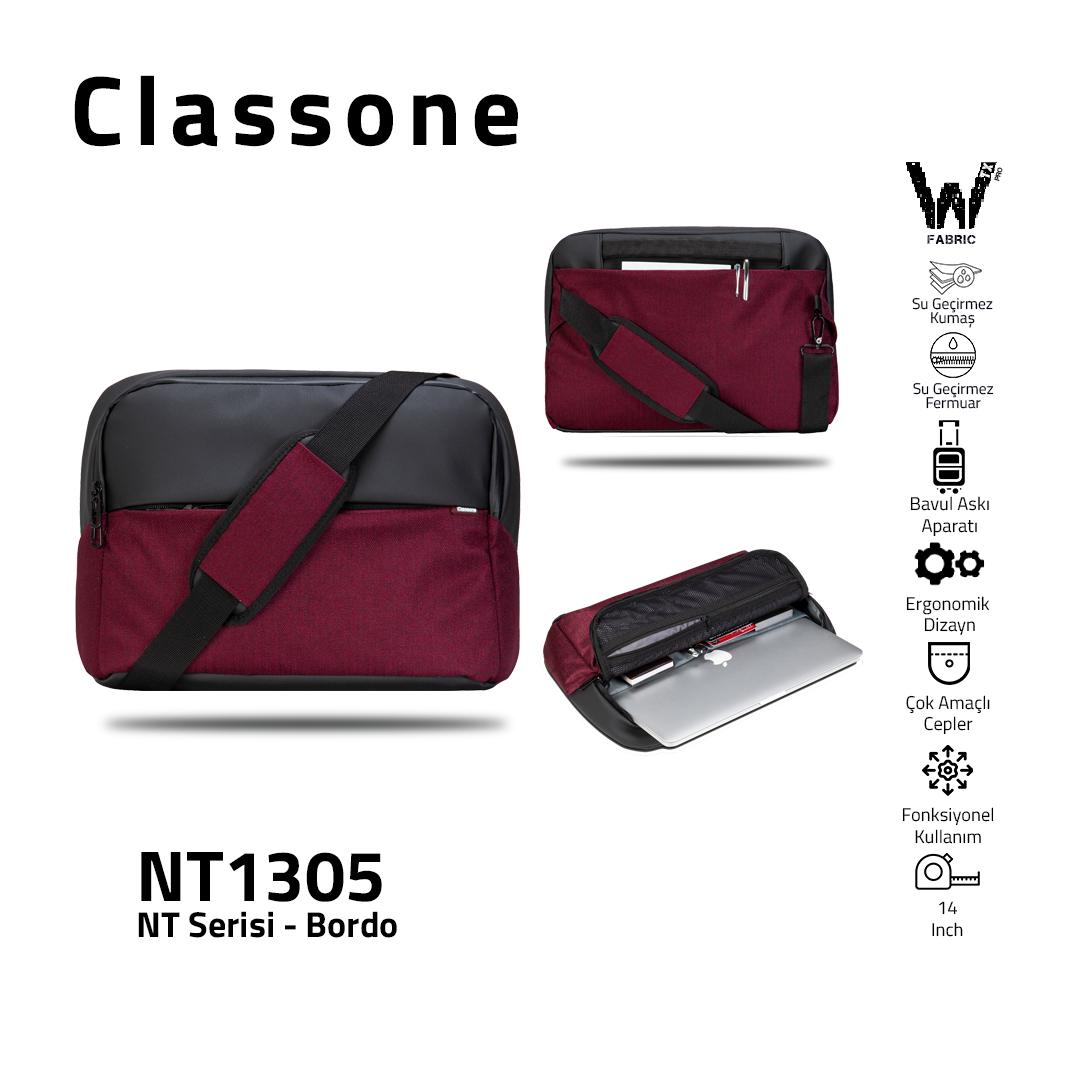 Neuer Trend-Serie NT1305 Laptoptasche /  Kastanienbraun