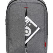 Classone BP-R154 Roma Serisi 15,6 inch Notebook Sırt Çantası - Gri