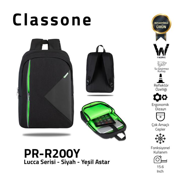 Classone Lucca Serie 15.6 Laptop-Rucksack
