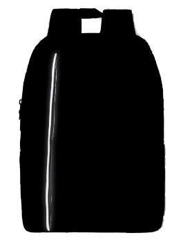 Classone PR-R204S Lucca Serisi 15,6 inç Laptop Notebook Sırt Çantası – Siyah Astar