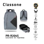 Classone Lucca Serie PR-R204S 15.6 Laptop-Rucksack / Schwarz Liner