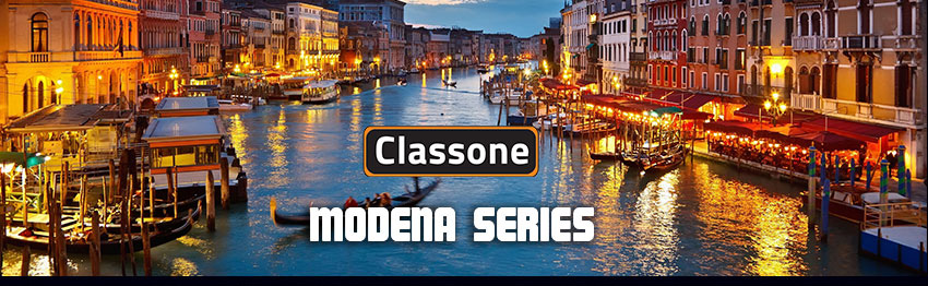 Classone Modena Serisi PR-R300B 15.6 Notebook Sırt Çantası-Siyah-Bordo Astar