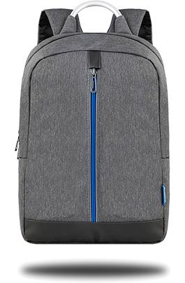 Classone Genoa Serisi PR-R404M 15.6 Notebook Sırt Çantası-Gri-Mavi Astar