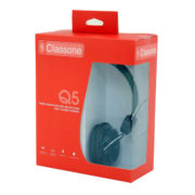 Q5 Serisi Kulaklık, Mikrofonlu Ve Kablodan Ses Kontrol - Siyah