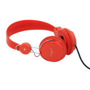 Q5 Serisi Kulaklık, Mikrofonlu Ve Kablodan Ses Kontrol - Kırmızı