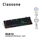 CLASSONE RGB10 RGB SERIE SPIELTASTATUR
