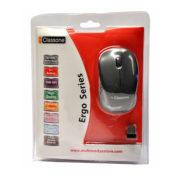 Classone T108 Ergo Serisi 2.4GHz 1000 DPI Kablosuz Mouse USB Alıcılı - Siyah