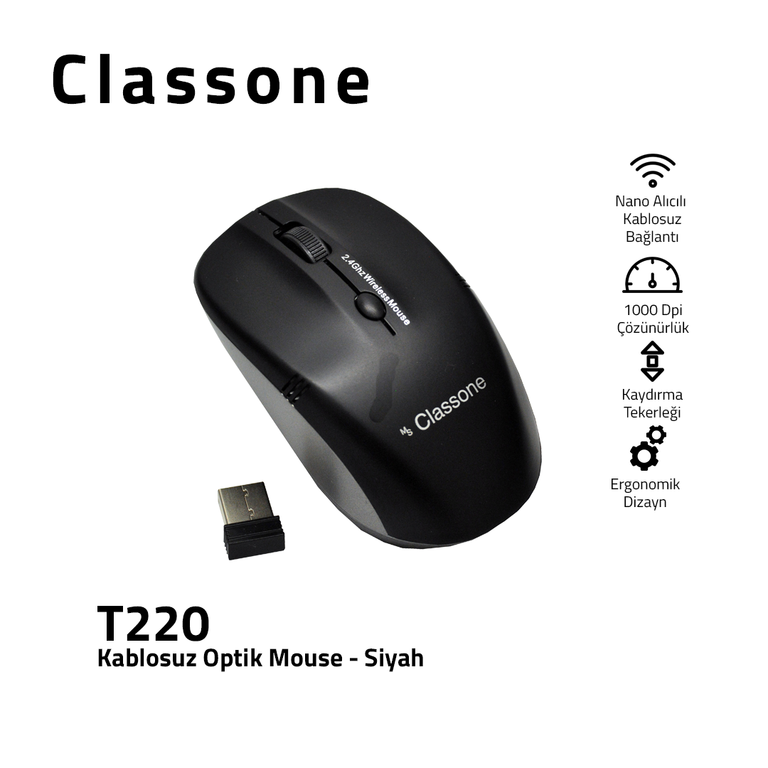 Kablosuz Optik Mouse