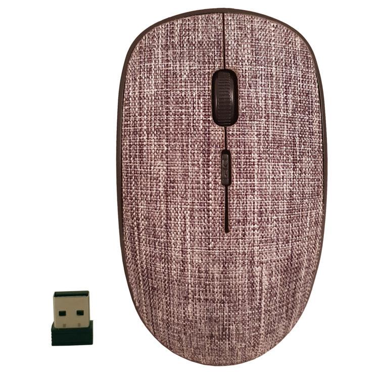 CLASSONE T89 Fabric 2.4 Ghz Kablosuz Mouse - Gri