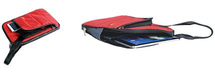 Classone TBL-U102 Colorful Small Serisi 7,8-10 inch Çanta - Kırmızı