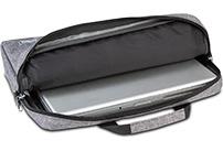 Classone Romeo Medium Serisi 13-14 inch uyumlu Laptop Çantası -Gri