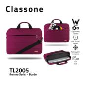 Classone Romeo Series TL2005 15.6 Laptop Bag – Claret Red