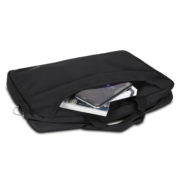 Classone TL2561 Top Loading Large Serisi 15,6 inch Notebook Çantası Siyah