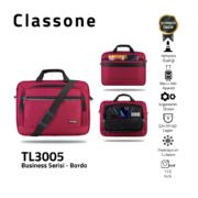 Classone Business Large Series TL3005 15,6 Zoll kompatible Notebook-Tasche - Kastanienbraun