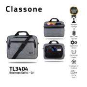 Classone Business Medium Serie 13-14 Zoll kompatible Laptoptasche - Grau