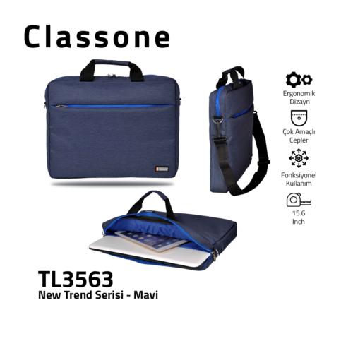 Neuer Trend-Serie Laptoptasche / Blau