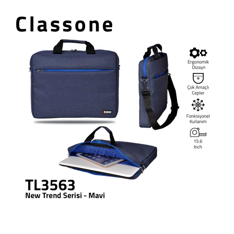 Neuer Trend-Serie TL3563 Laptoptasche / Blau