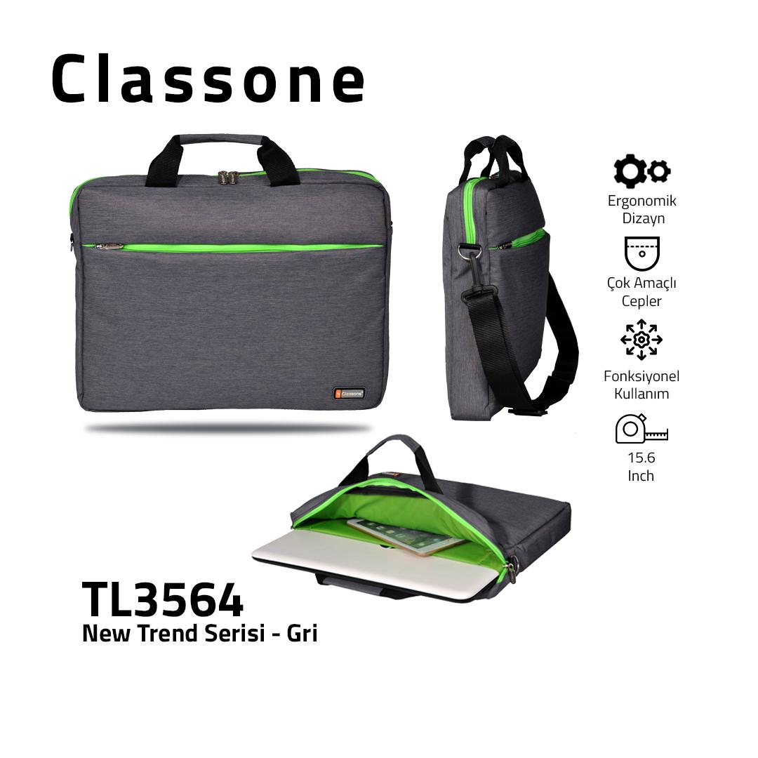 Neuer Trend-Serie Laptoptasche / Grau