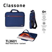 Neuer Trend-Serie Laptoptasche / Marineblau