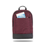 Classone TW1505 Twin Color 15.6 inch Notebook Çantası-Bordo