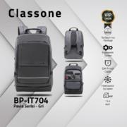 "Classone BP-IT704 Pavia 15.6""  Laptop , Notebook Sırt Çantası - Gri"