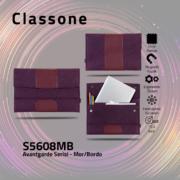 Classone S5608MB Avantgarde 15,6 inch Laptop Kılıfı - Mor-Bordo