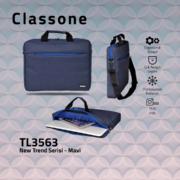 Classone TL3563 Newtrend Serisi 15,6 inch Notebook Çantası / Mavi