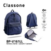 Classone BPV161LL Verona L Serisi 15,6 inch  Sırt Çantası Lacivert/Lacivert