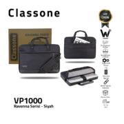 Classone Ravenna Serisi VP1000 13-14 inch El Çantası-Siyah