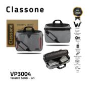 Classone Business Large Series TL3004 15,6 Zoll kompatible Notebook-Tasche - Grau