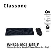 Kabelgebundene F Tastatur-Maus-Kombinationen