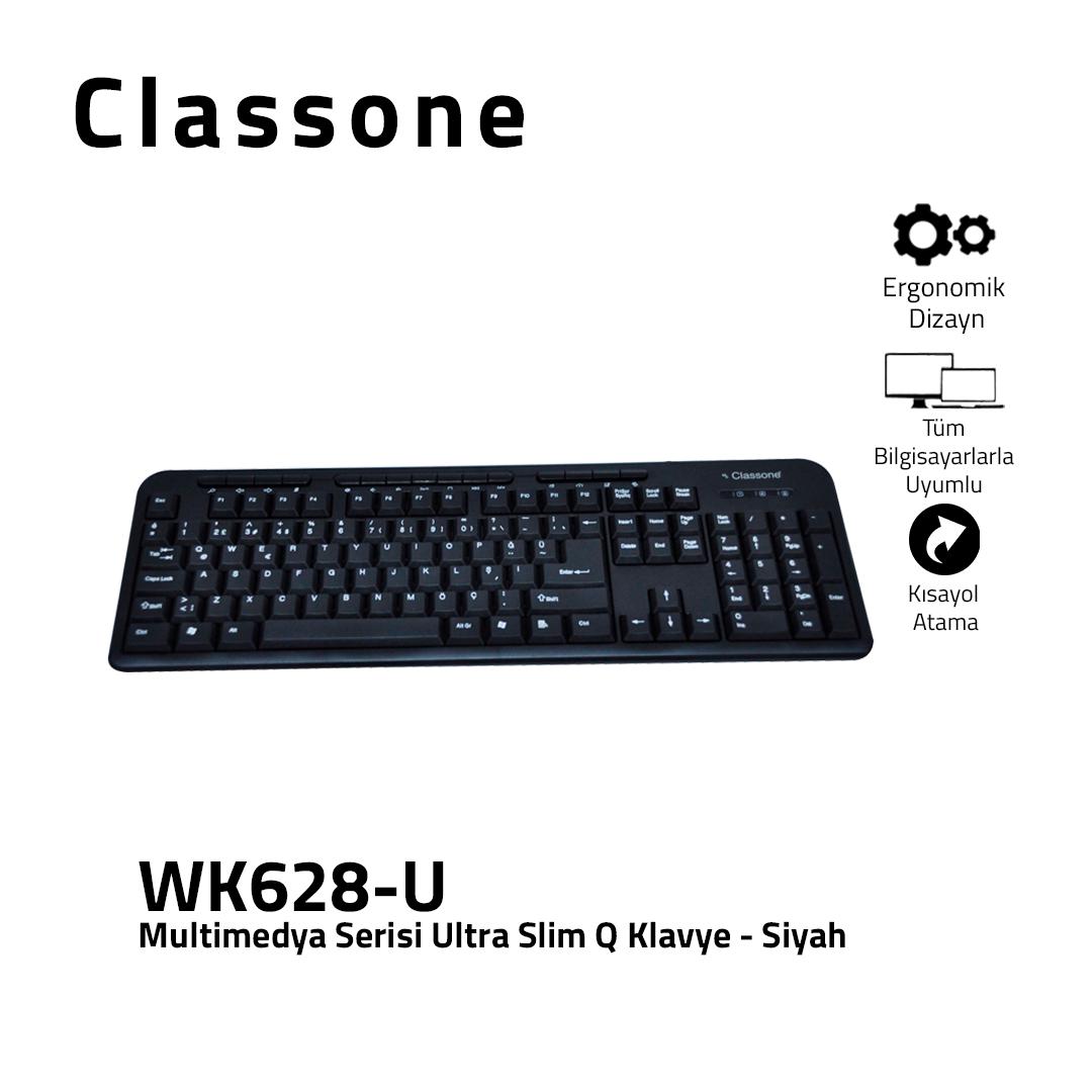 Multimedia Ultraflache USB-Q-Tastatur