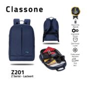 Classone BP-Z201 Zaino Serisi 15,6 inch Notebook Sırt Çantası / Mavi