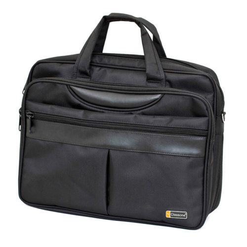 Business Large Serisi Promosyon Notebook Çantası Siyah