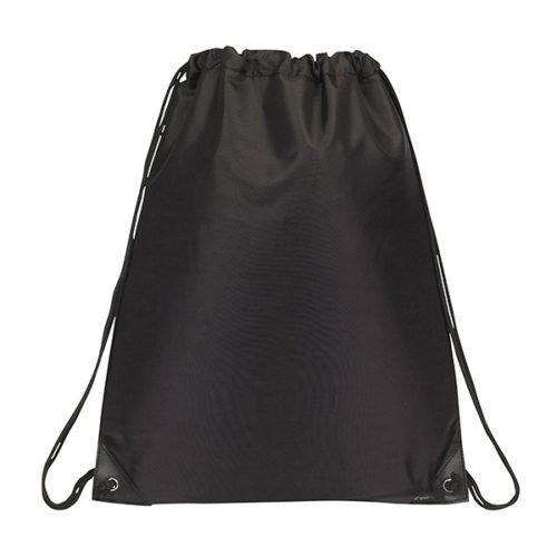 Büzgülü Torba Çanta - Siyah