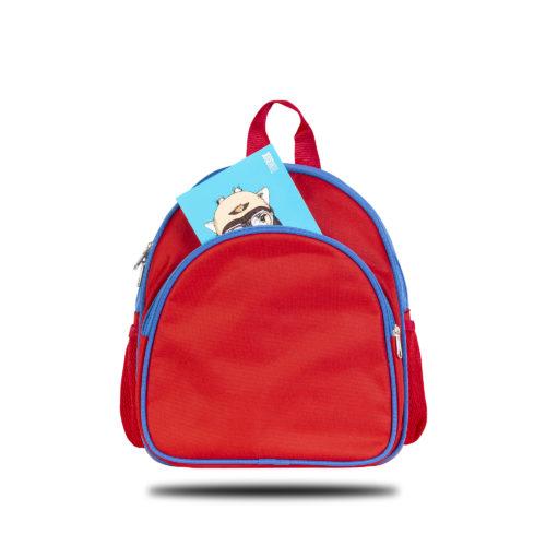 Classone Okul Çantası - Kırmızı/Mavi