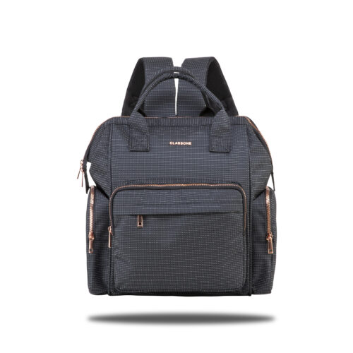 Classone Bergamo Series Baby Care Backpack - Black